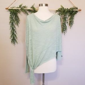 We The Free Pale Mint Green Top Size Small